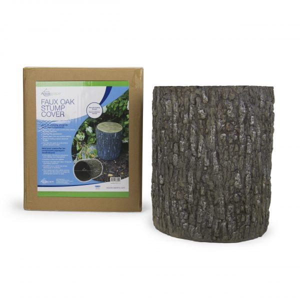 Faux Oak Stump Cover