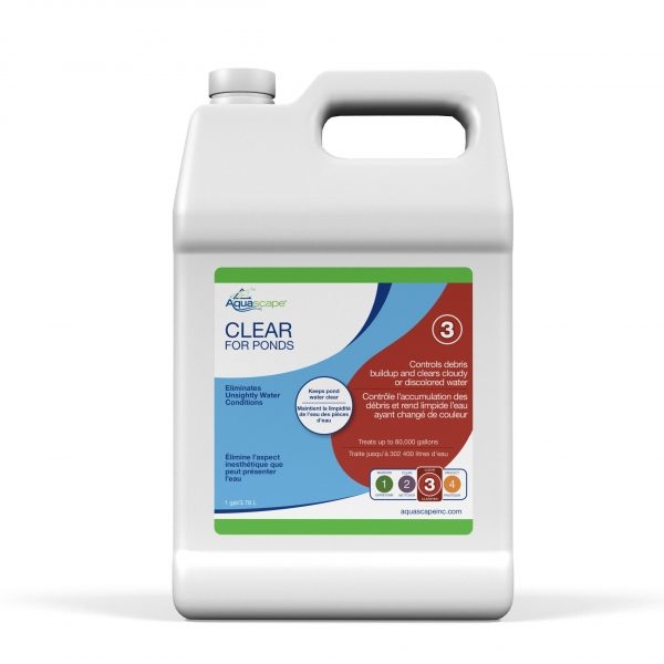 Clear for Ponds - 1 gal / 3.78 L