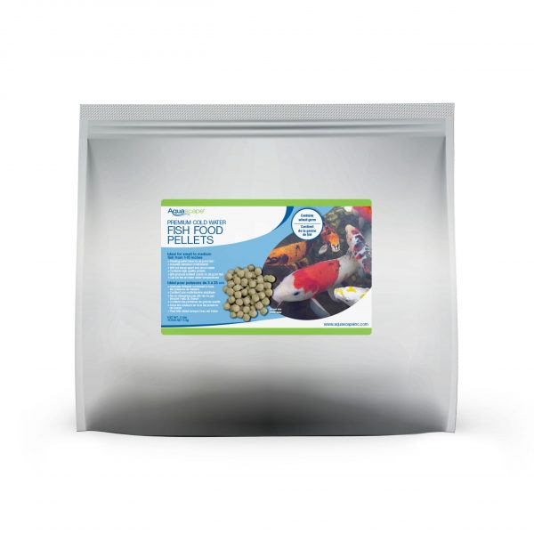Premium Cold Water Fish Food Large Pellets - 11 lbs