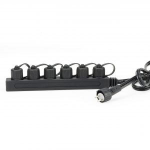 Garden and Pond 6-Way Quick-Connect Splitter