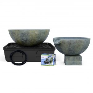 Spillway Bowl and Basin Landscape Fountain Kit