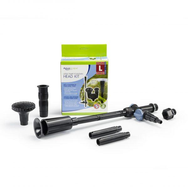Large Ultra Pump Fountain Head Kit