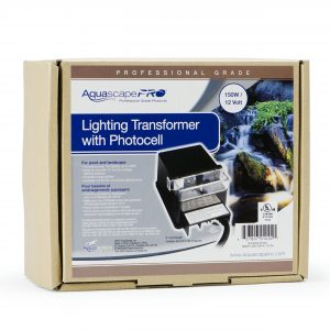 Garden and Pond 150-Watt Transformer with Photocell
