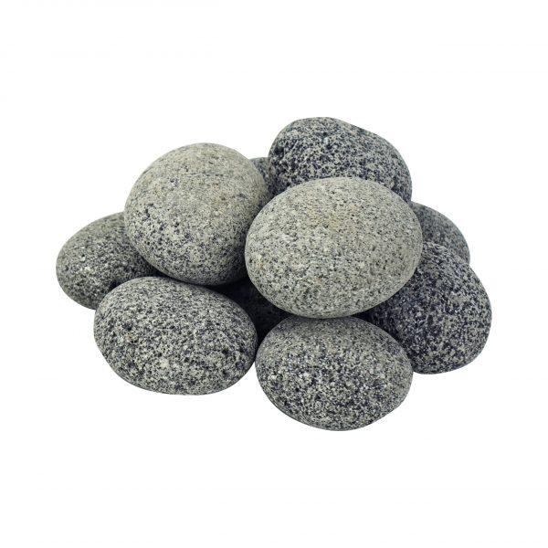 Large Tumbled Lava Stones - 25 lb