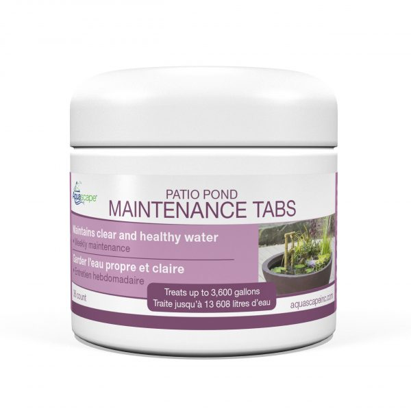 Patio Pond Maintenance Tabs - 36 count