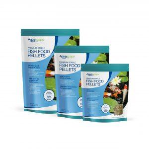 Premium Staple Fish Food Mixed Pellets - 2.2 lbs