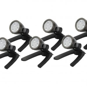Garden and Pond 3-Watt LED Spotlight 6-Pack