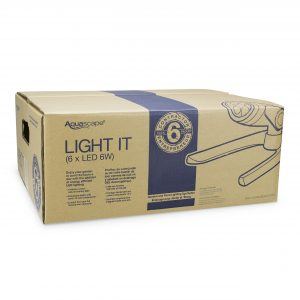 Garden and Pond 6-Watt LED Spotlight 6-Pack