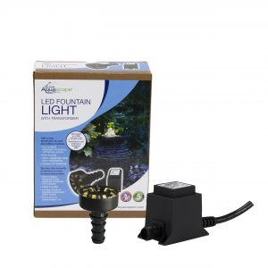 LED Fountain Light with Transformer
