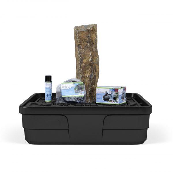 "Mongolian Basalt Column 30"" Landscape Fountain Kit"
