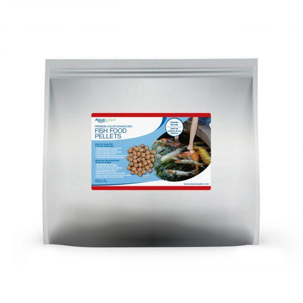 Premium Color Enhancing Fish Food Large Pellets - 11 lbs