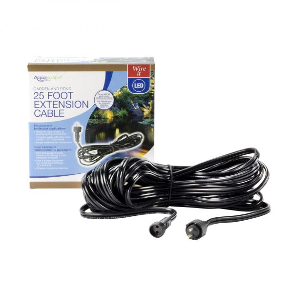 Garden and Pond 25' Quick-Connect Lighting Extension Cable