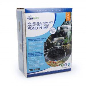 AquaForce® 4000-8000 Adjustable Flow Solids-Handling Pond Pump