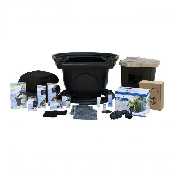 Aquascape Large Pond Kit 21 x 26, 9-PL 7000 Pump