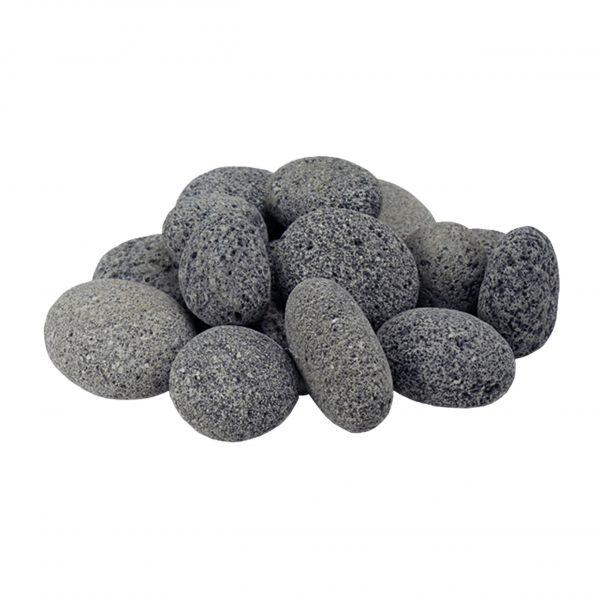 Mixed Tumbled Lava Stones - 50 lb