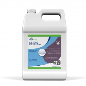 Clean for Fountains - 1 gal / 3.78 L