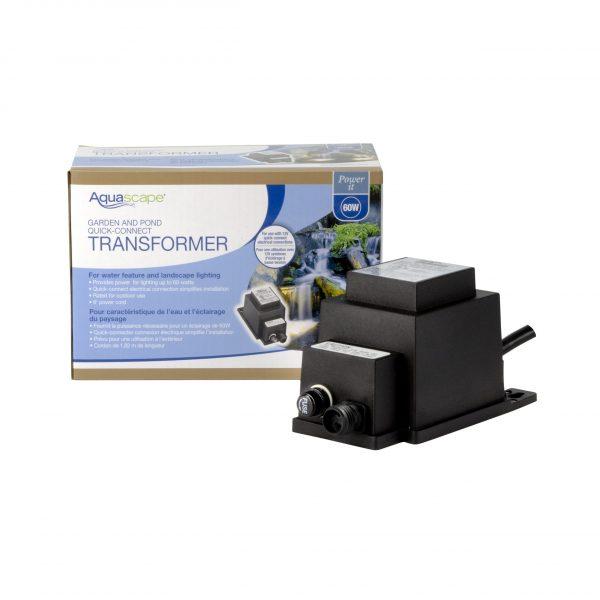 Garden and Pond 60-Watt 12V Quick-Connect Transformer