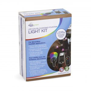 LED Color-Changing Fountain Light Kit