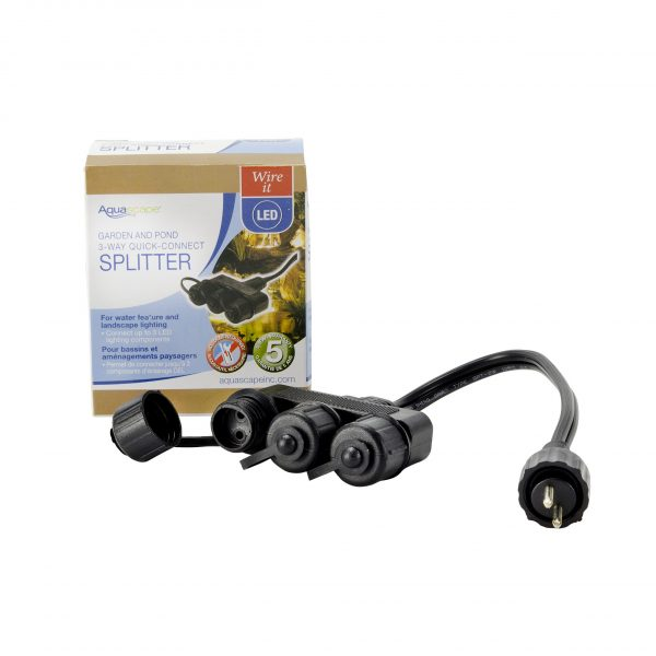 Garden and Pond 3-Way Quick-Connect Splitter