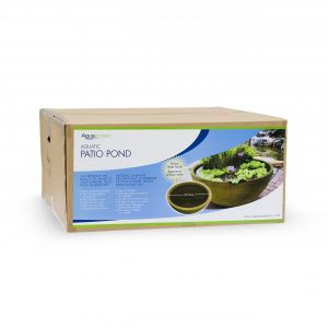 "Green Slate 32"" Patio Pond - 20 gal"