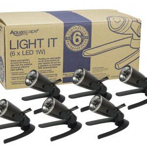 Garden and Pond 1-Watt LED Spotlight 6-Pack