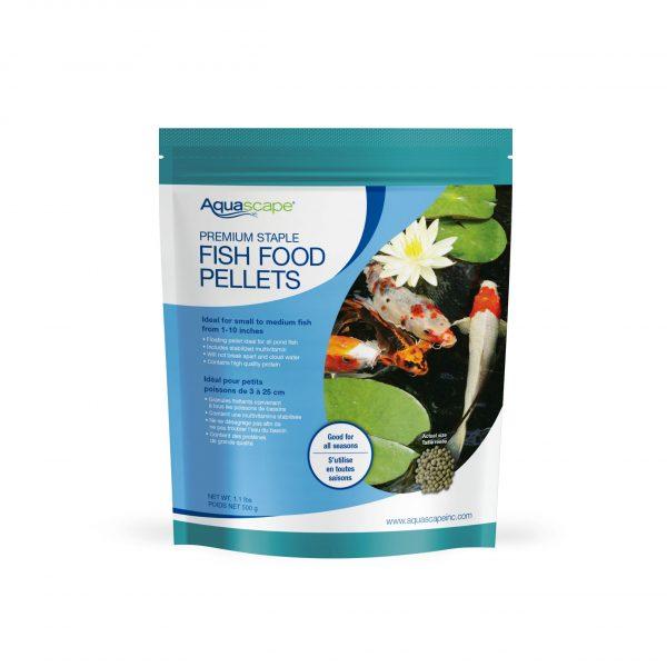 Premium Staple Fish Food Small Pellets - 1.1 lbs