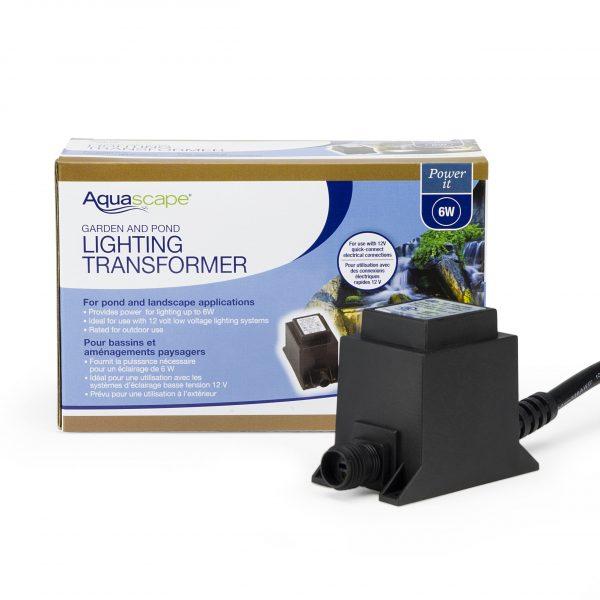 Garden and Pond 6-Watt 12V Quick-Connect Transformer