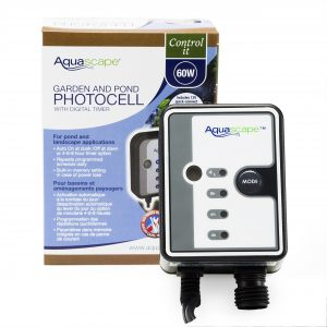 Garden and Pond Photocell with Digital Timer