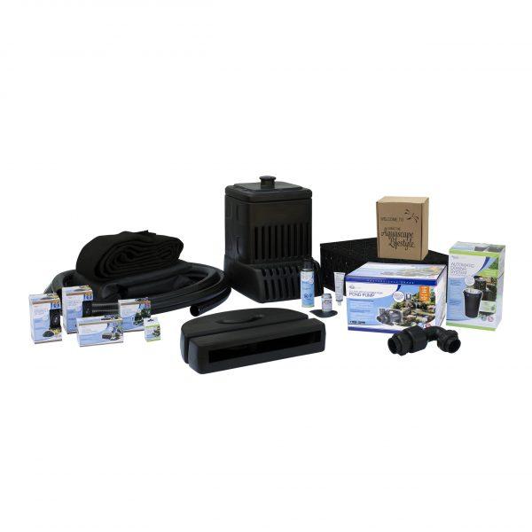 Medium Pondless® Waterfall Kit 16' Stream with SLD 4000-7000 Adjustable Flow Pond Pump