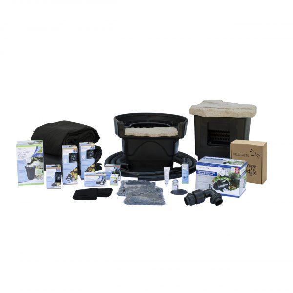 Medium Pond Kit 11 x 16 with AquaSurge 2000-4000 Pond Pump