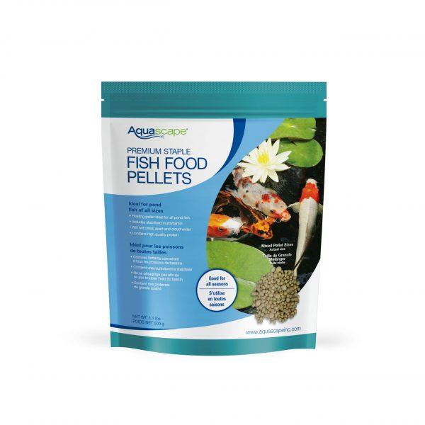 Premium Staple Fish Food Mixed Pellets - 1.1 lbs