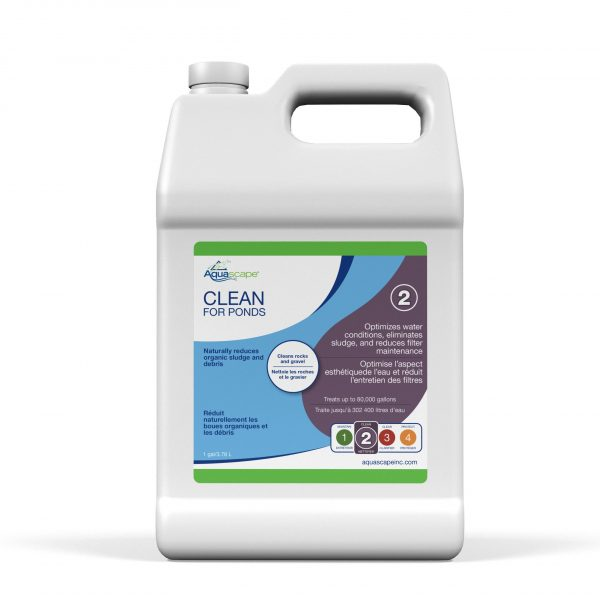 Clean for Ponds - 1 gal / 3.78 L