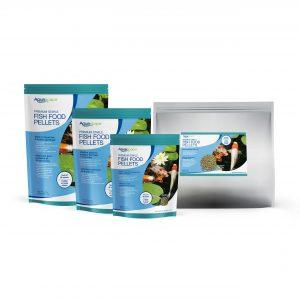 Premium Staple Fish Food Large Pellets - 11 lbs