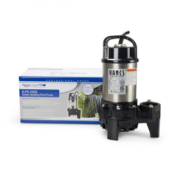8-PN 5500 Solids-Handling Pond Pump