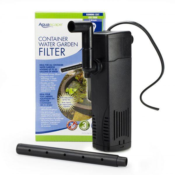 Container Water Garden Filter
