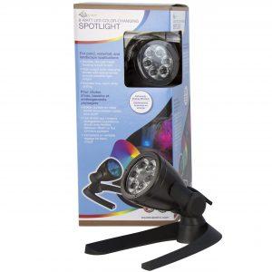 8-Watt LED Color-Changing Spotlight