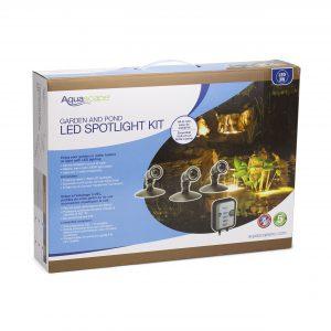 Garden and Pond LED Spotlight Kit