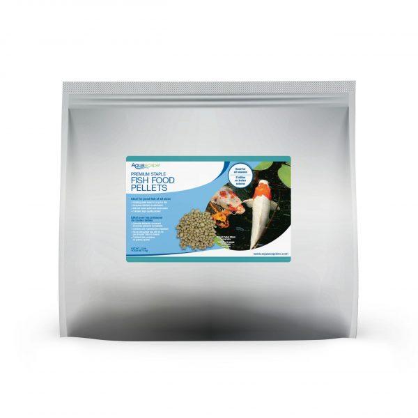 Premium Staple Fish Food Mixed Pellets - 11 lbs